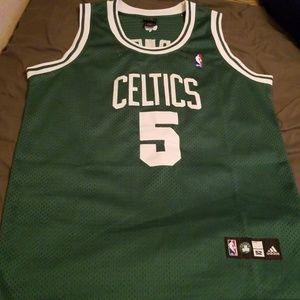 Authentic Celtics Garnett Jersey size 52